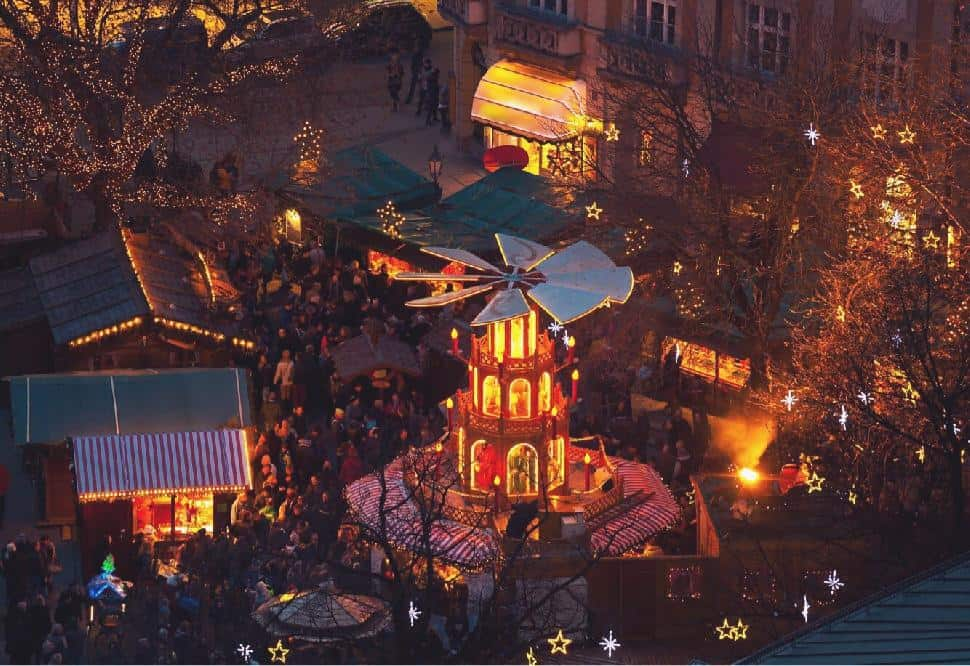 Christkindlmarkt Munich, Germany