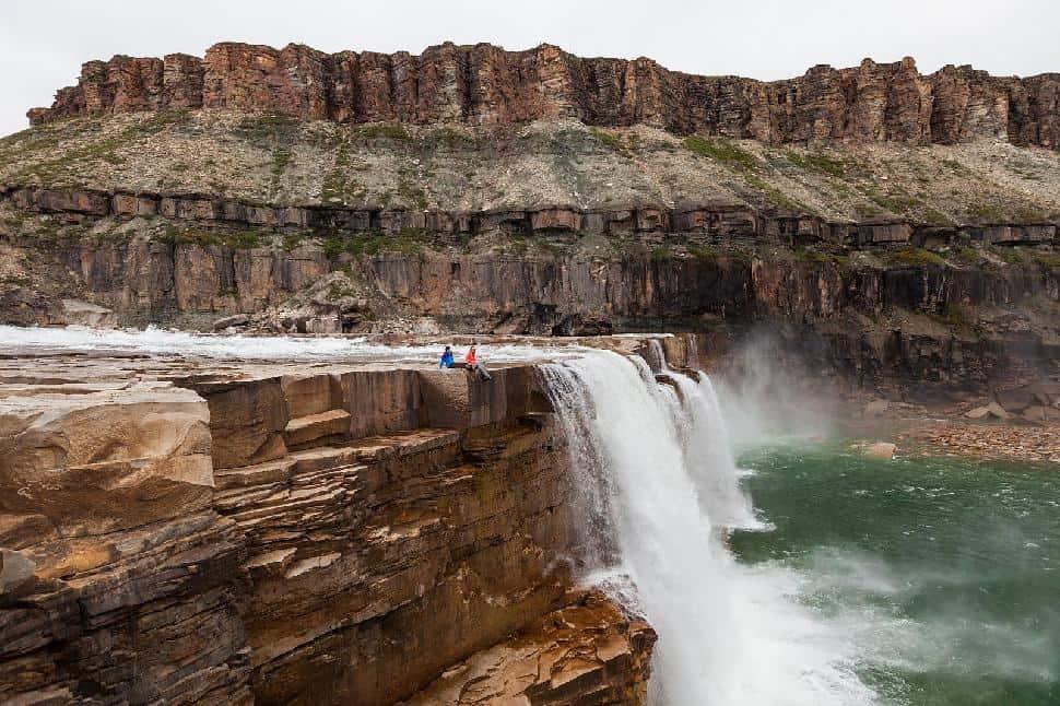 La Roncière Falls Tuktut Nogait National Park
