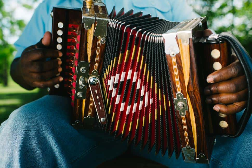 Taditional button accordion