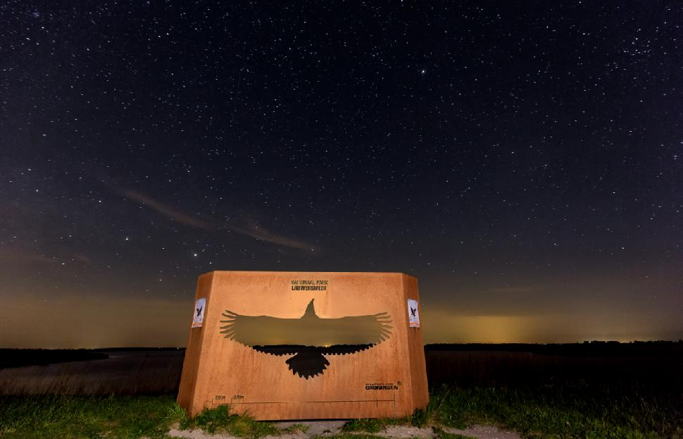 DarkSkyPark.jpeg: Don't be afraid of the dark: Recently named a Dark Sky Park, Lauwersmeer National Park's rangers lead night-time star-gazing tours, including one to help kids (and adults) get over their fear of the dark.