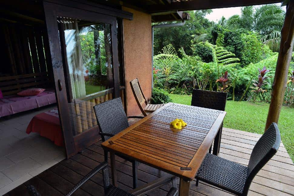 vanira lodge patio