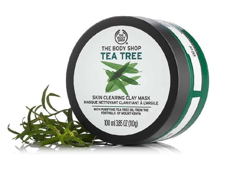 Body Shop Tea Tree Oil Clay Face Mask