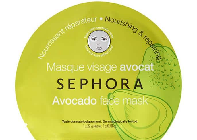 Sephora Collection Avocado Face Mask