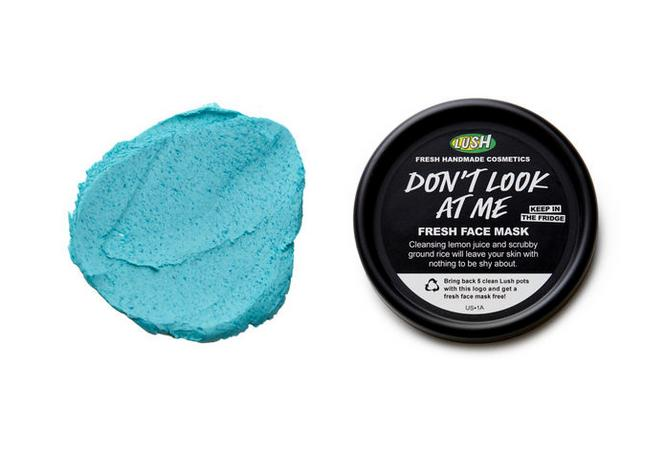 LUSH Cosmetics Don't Look At Me Mask