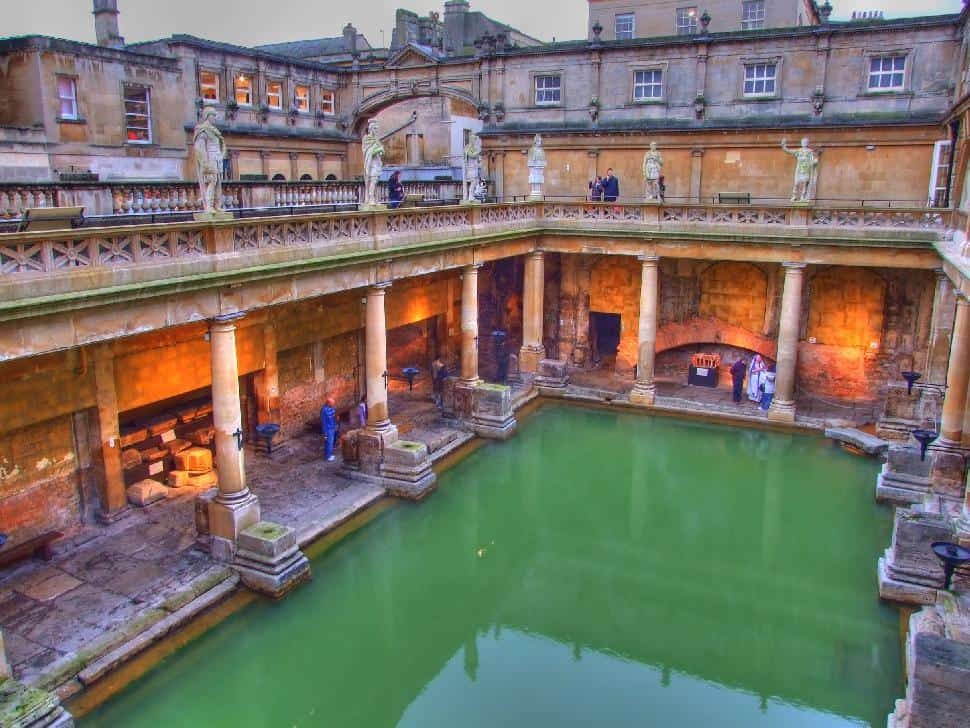 Roman Bathhouse Bath, Somerset, England