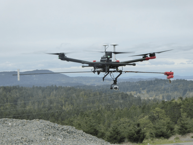Drone-mounted laser technology can measure greenhouse gas emissions from sites such as oil and gas wells