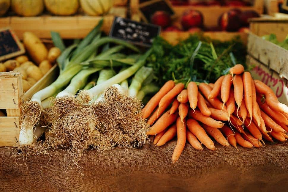 fresh veggies market