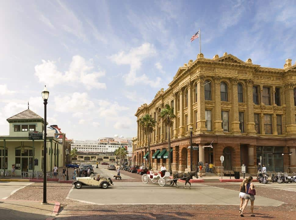 The Strand downtown galveston texas