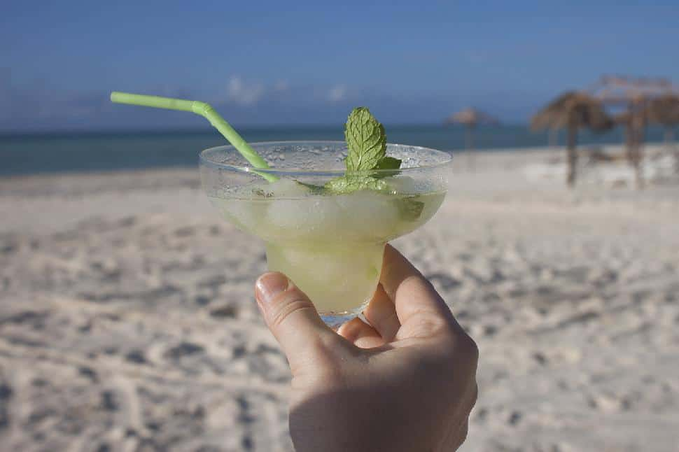 Mojitos on the beach