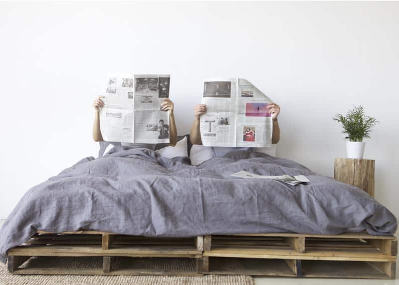 5. Primary Goods Linen Bedding Sets, from $349
