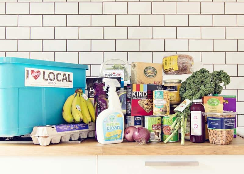 6. SPUD Deliveries for grocery, meal and baby products, from $35