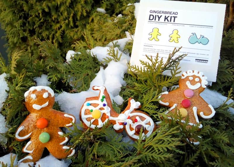 16. DIY Gingerbread Kit by Swiss Bakery, $14