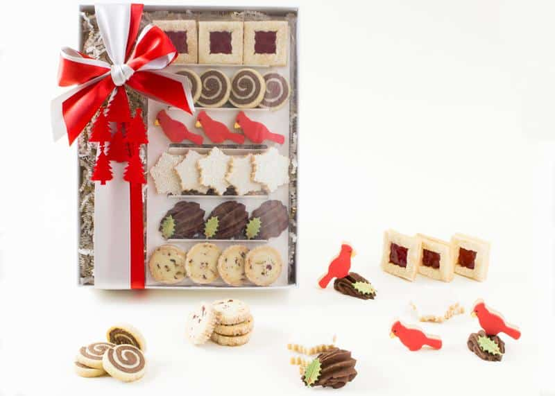 8. Holiday Cookie Gift Box by Soirette, $36