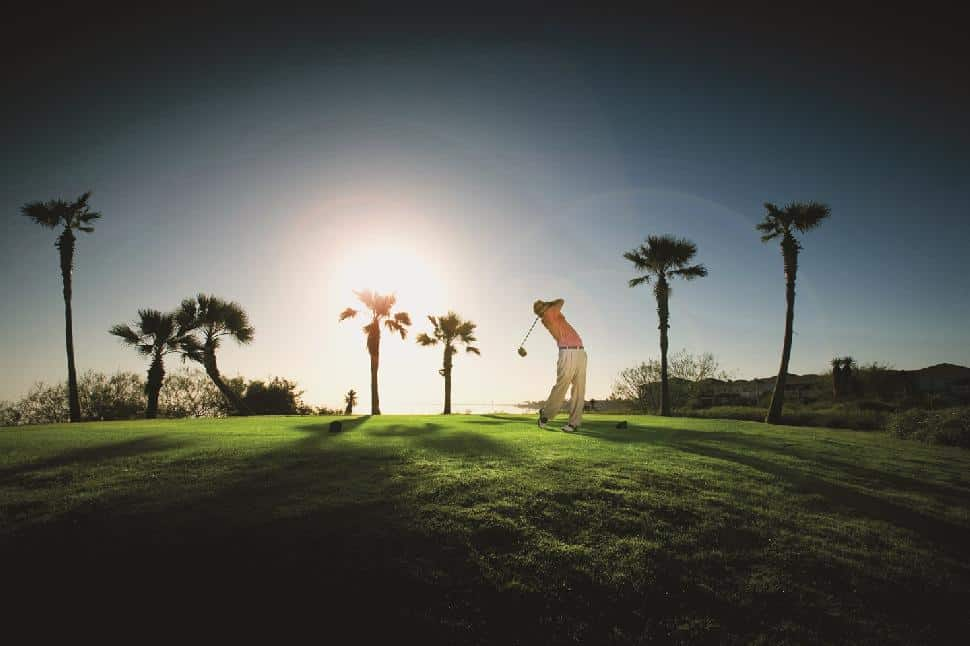 Golfing South Padre Island