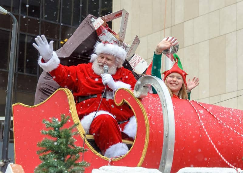 6. Santa Claus Parade — Sunday, December 3