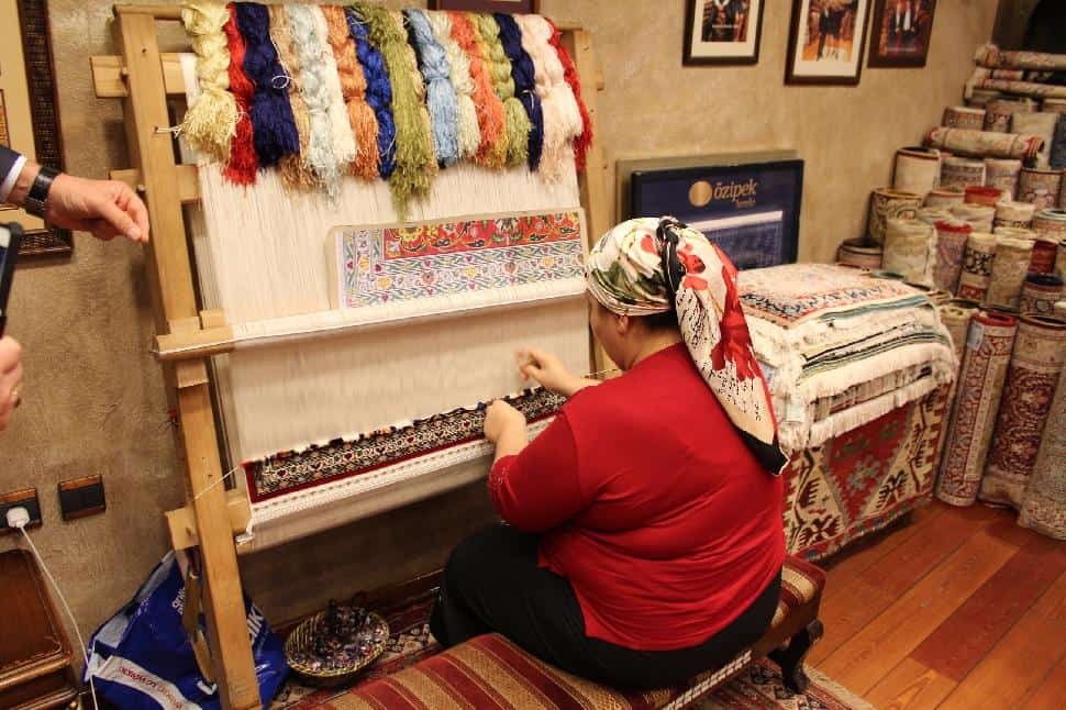 Turkey arts and culture carpet maker