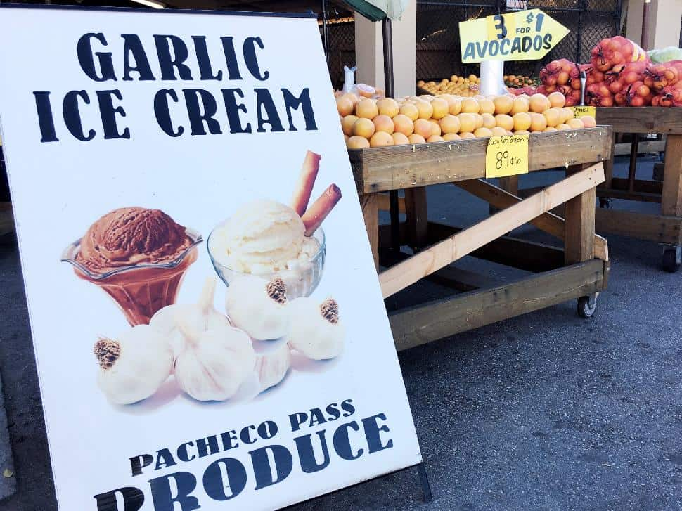 Garlic Ice Cream