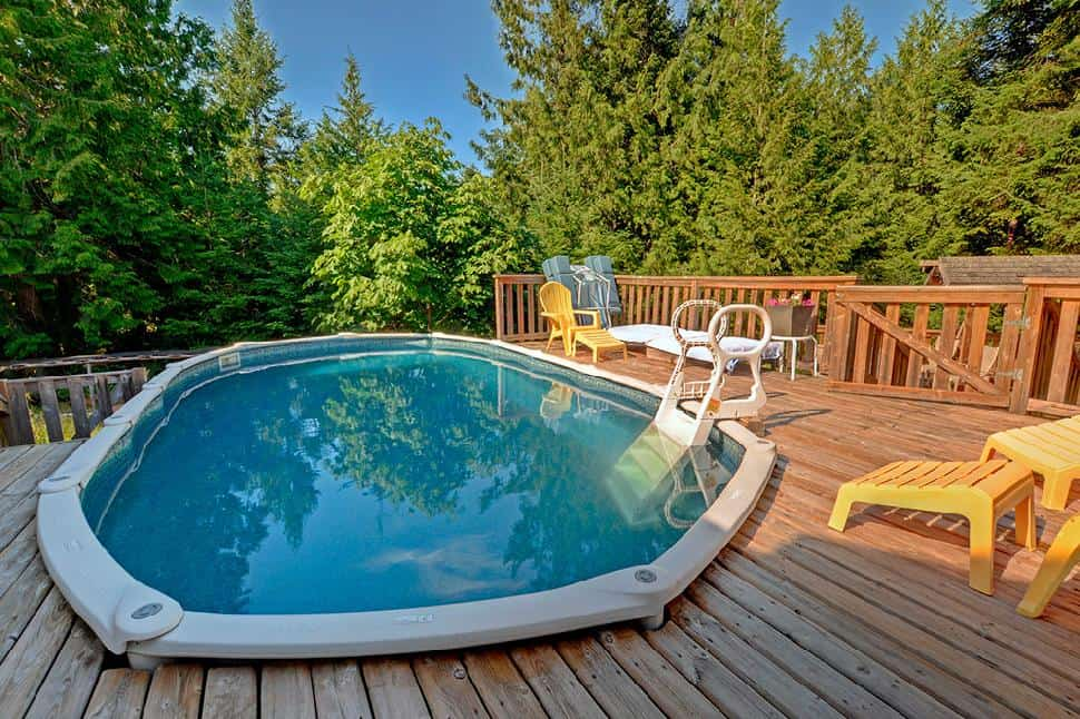 Mayne Island Hot tub