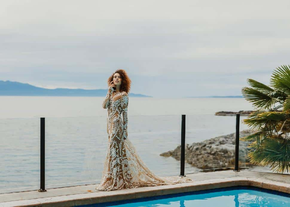 Enjoying a trail