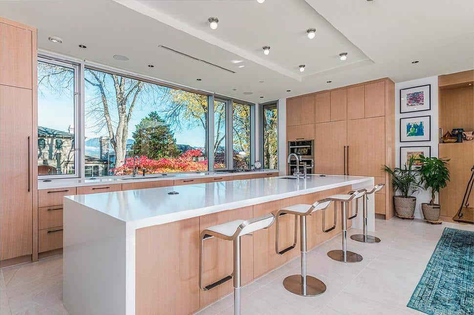 Point Grey kitchen seating