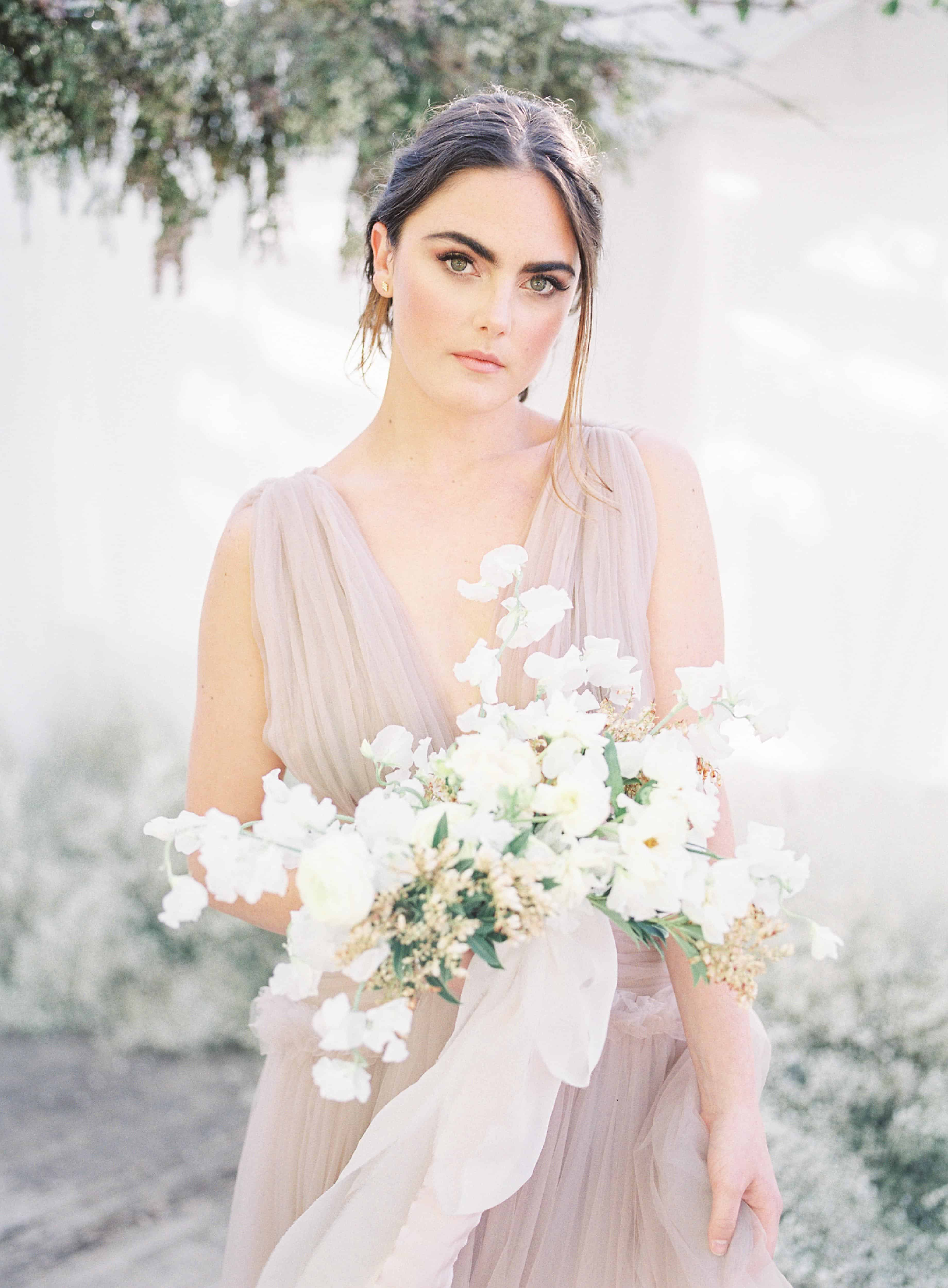 Grecian Styled Shoot Inspired by Crystals - Real Weddings