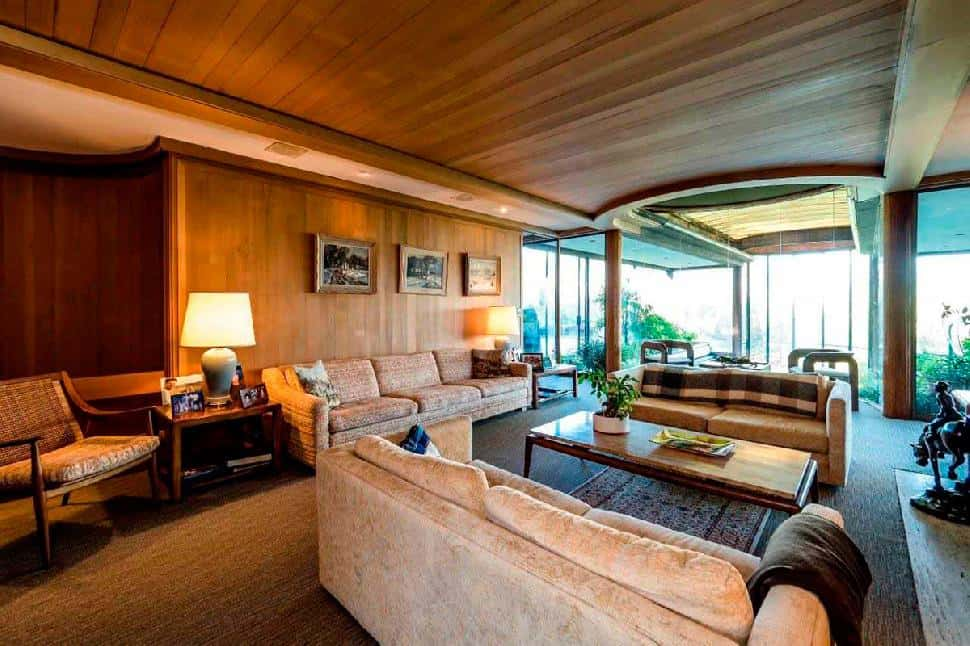 Point Grey living room