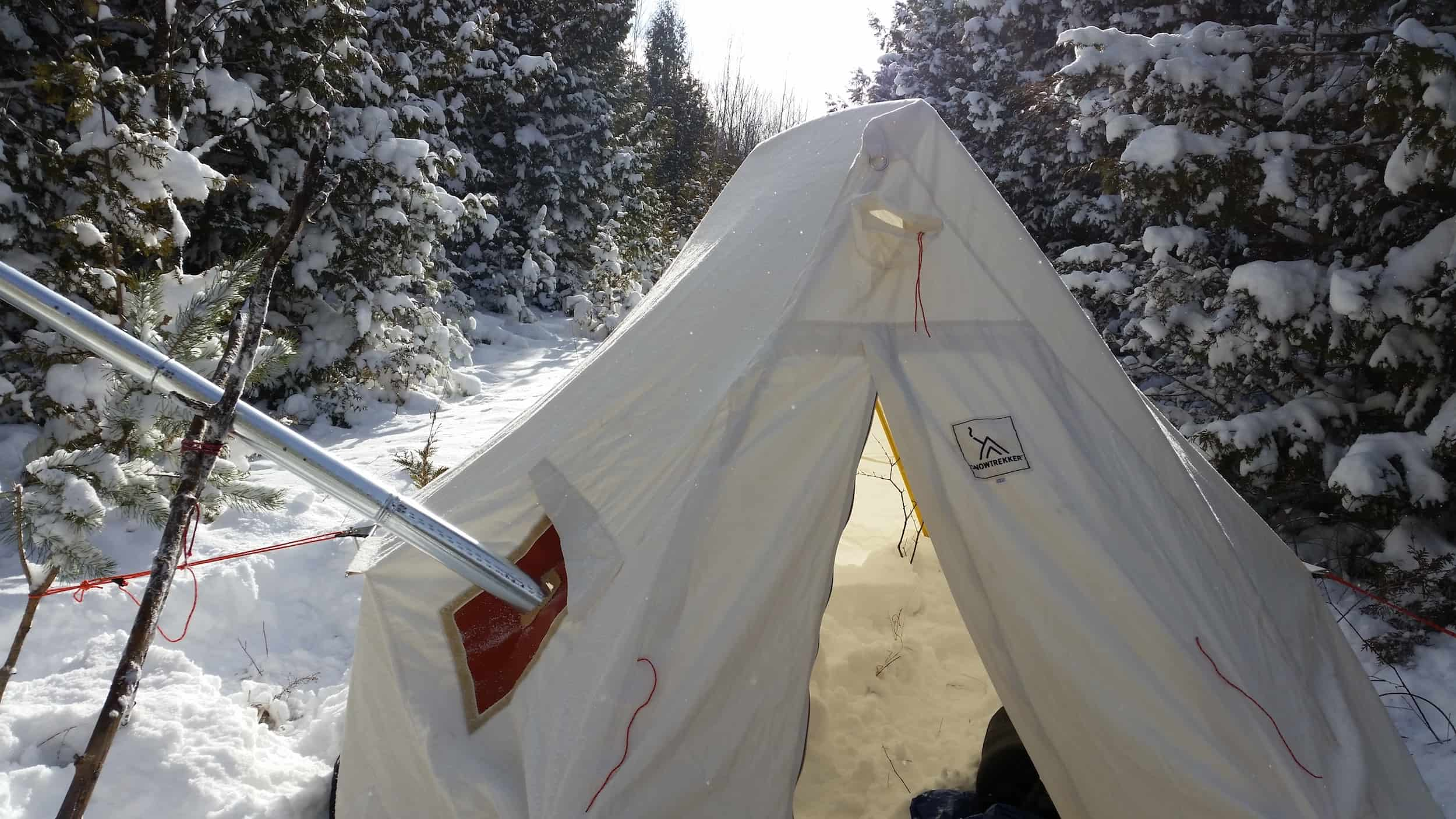 & The Happy Camper: Best Hot Tent Designs - Explore Magazine