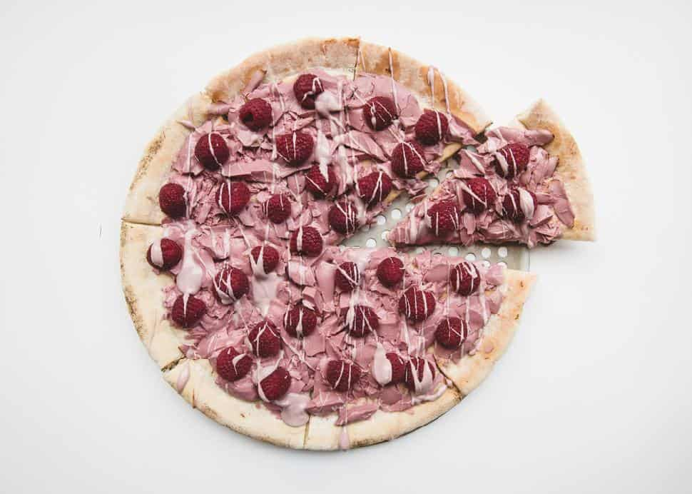 Cacao 70 Be My Berry Pizza