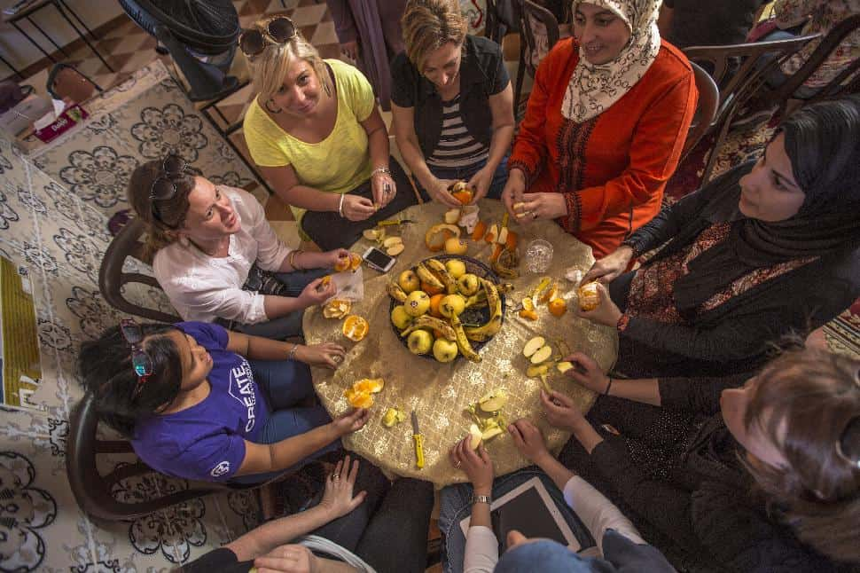 Morocco Meknes Women_s Lunch Overhead Oana Dragan