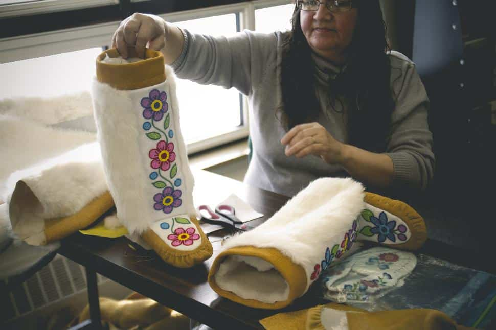 Manitobah Mukluks Focuses on Aboriginal Youth