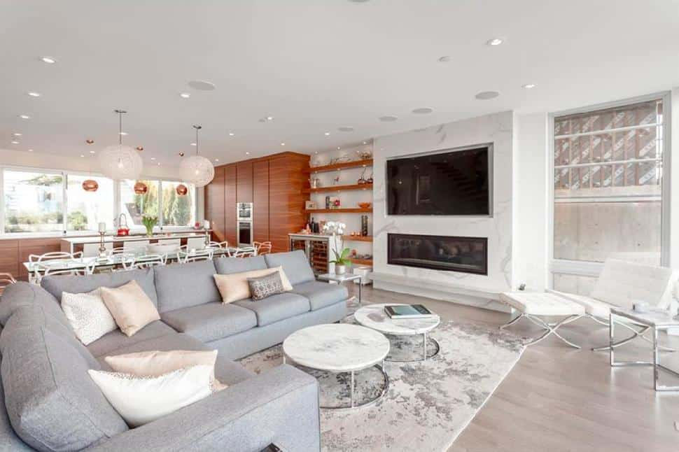 Vancouver west side open concept