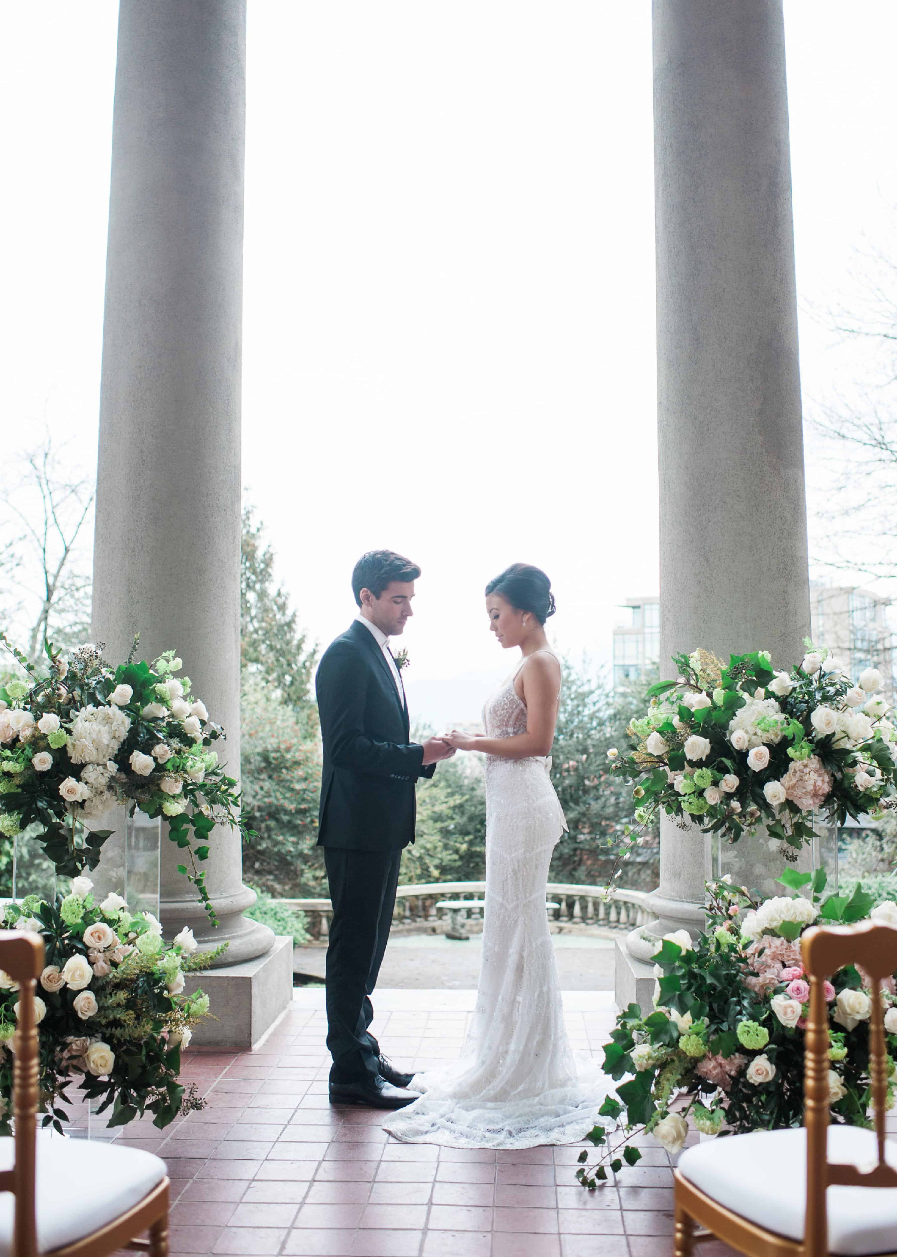 A Luxurious Intimate Wedding at Hycroft Manor - Real Weddings