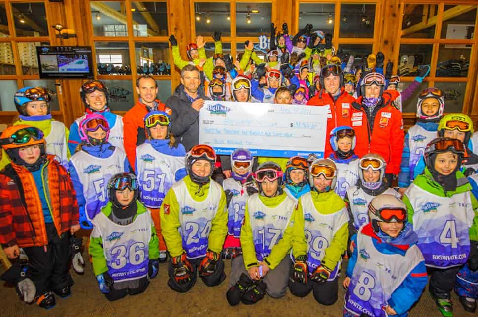 TELUS and Big White Ski Resort Donate $32,564 to Support Youth Ski Racing