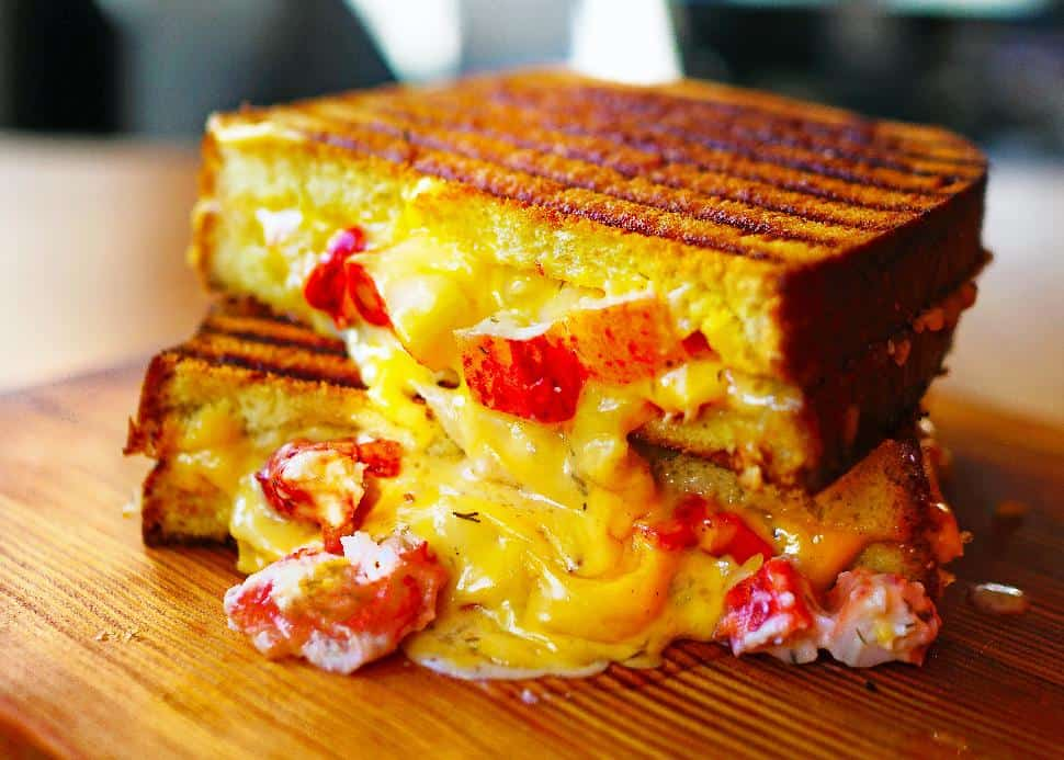 Holy Crab lobster grilled chees