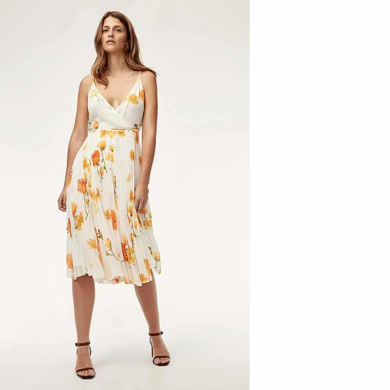 Wilfred Beaune Dress from Aritzia, $195