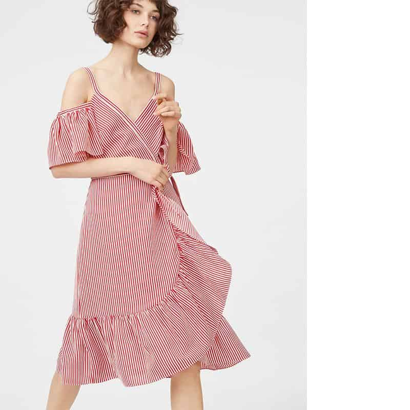 Daphins Wrap Dress from Club Monaco, $268