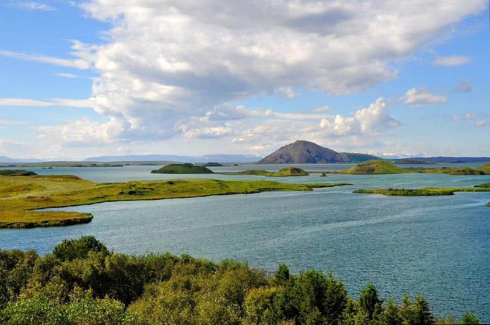 Lake Myvatn, Iceland: Battleground between the First Order and the Resistance