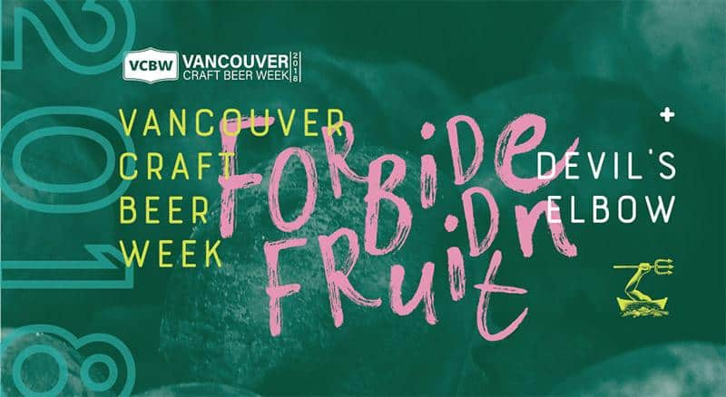 Forbidden Fruit, Thursday May 31 at Devil's Elbow Ale & Smoke House