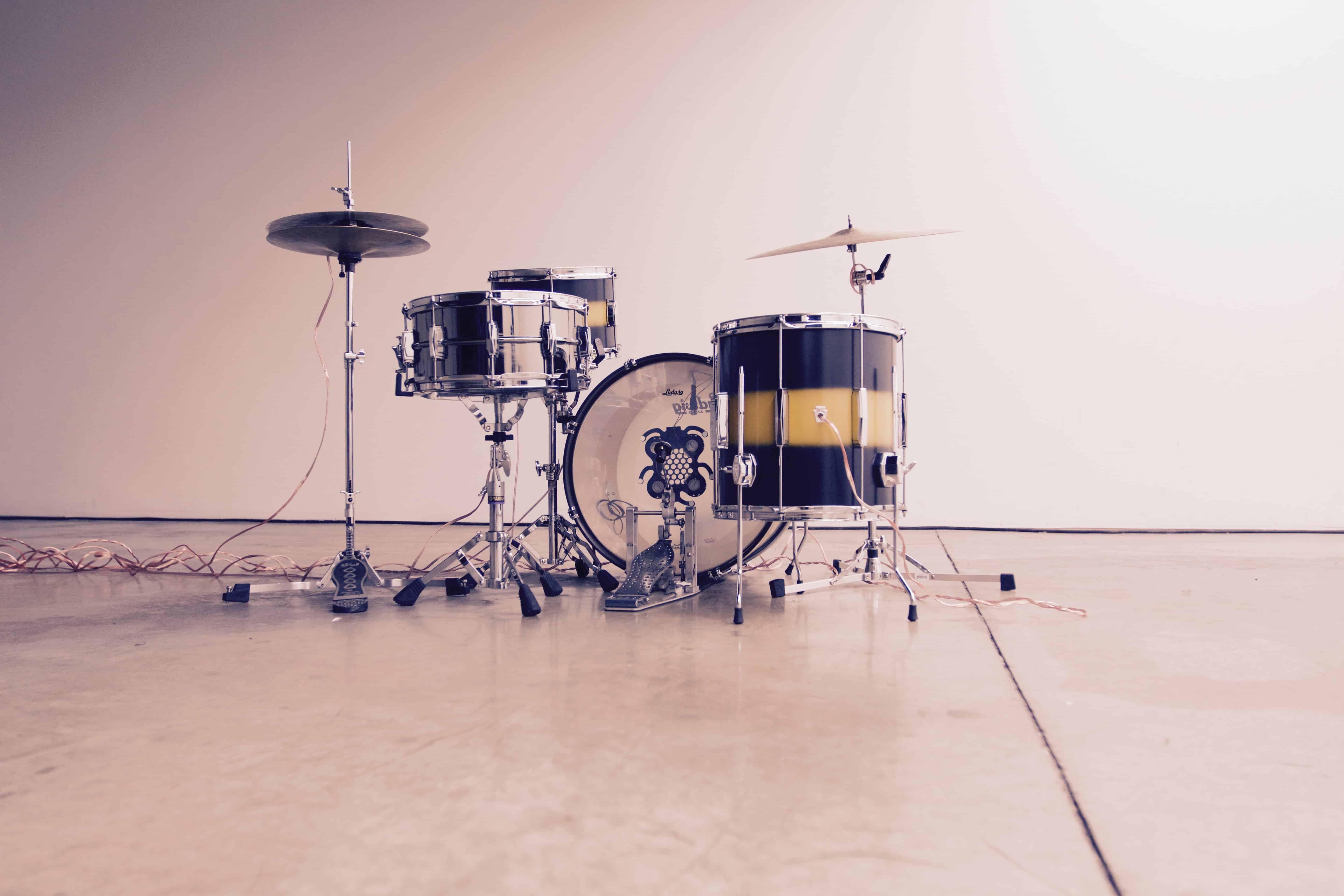 Temporal Drum Set Sound Installation - BCLiving