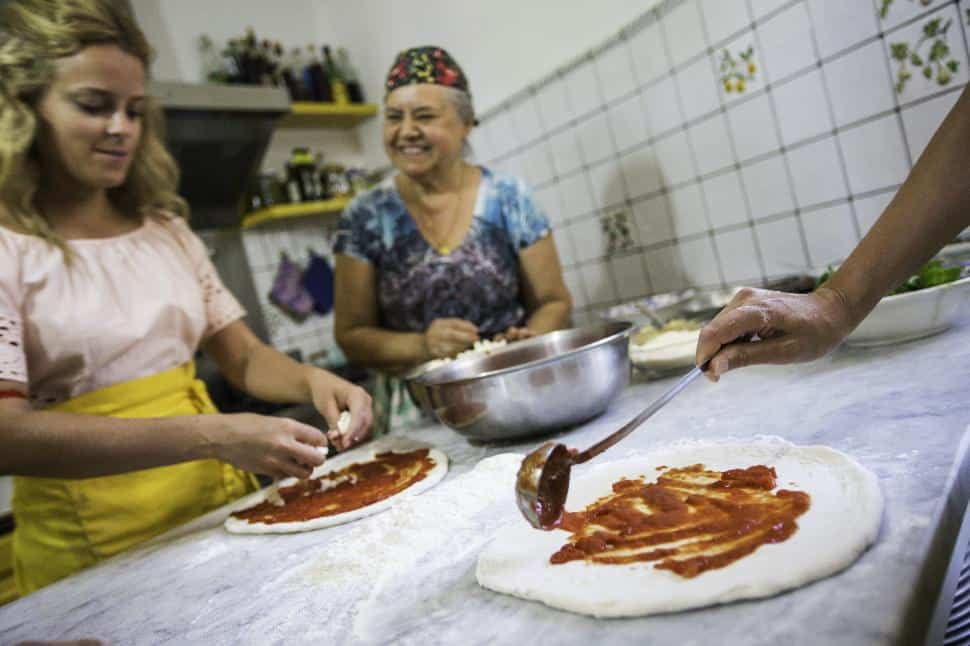 Italy Sorrento Pizza Making Class Travellers Homestay
