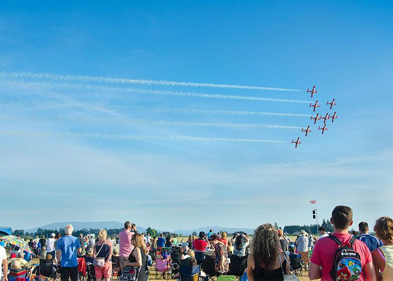 10. Abbotsford International Air Show — Friday, August 10 to Sunday, August 12