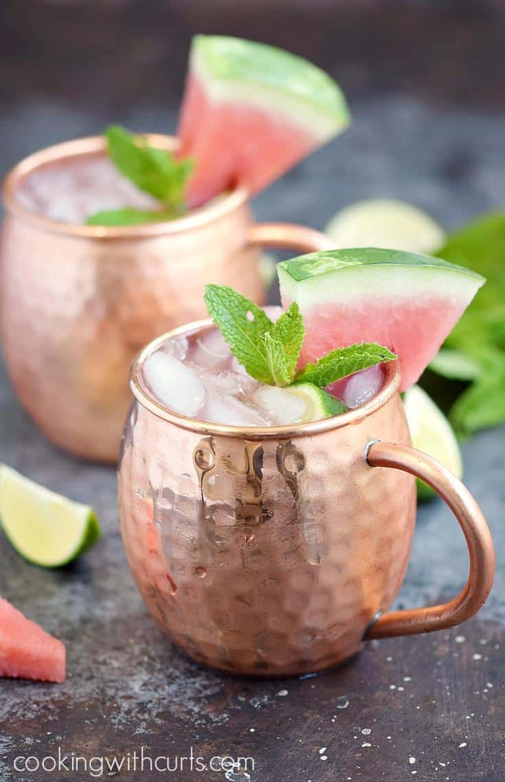 Watermelon Moscow Mule