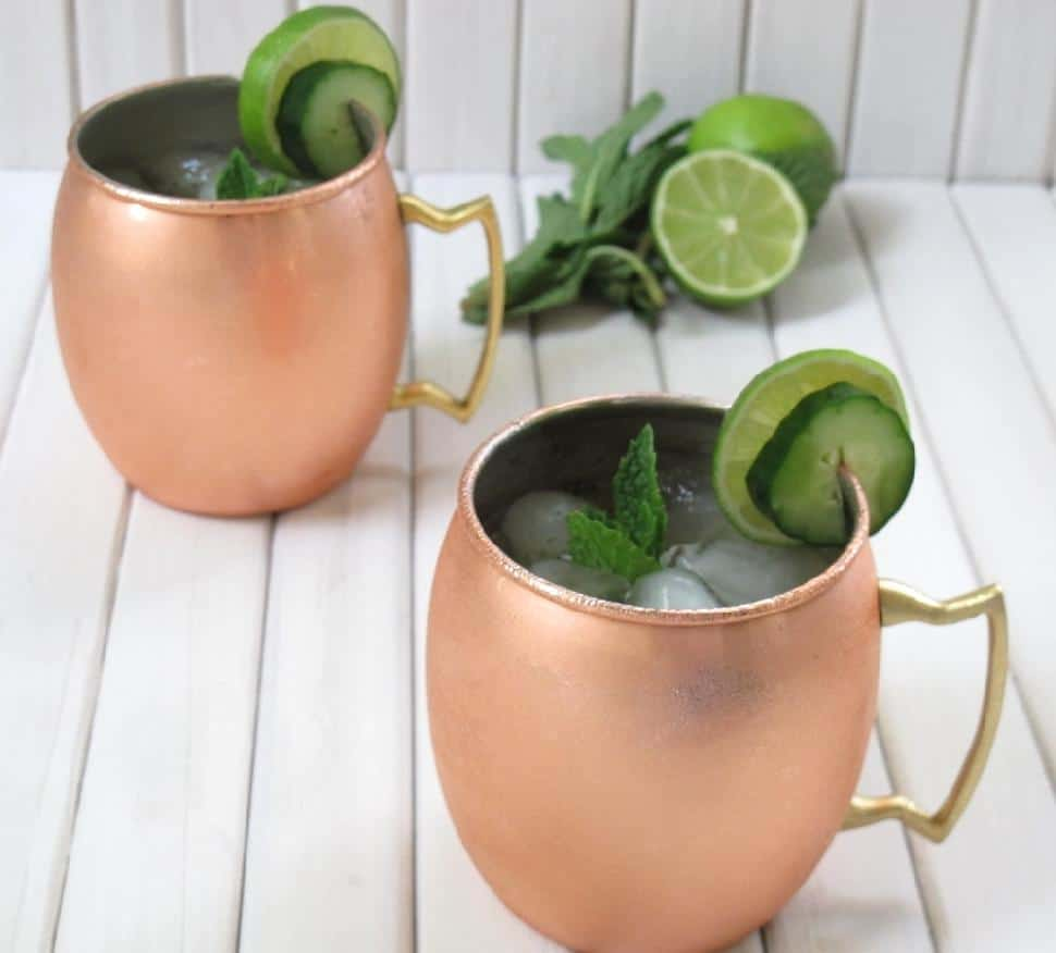 Jalepeno Mint Moscow Mule