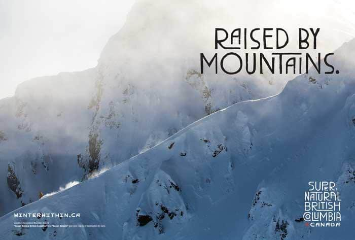 raised by mountains