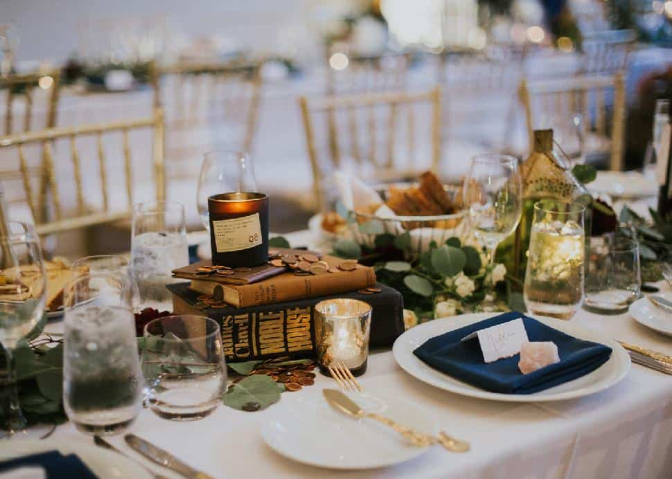Sarah & Elle | Wedding Table Setting Design | Wedding & Event Planners | Dreamgroup