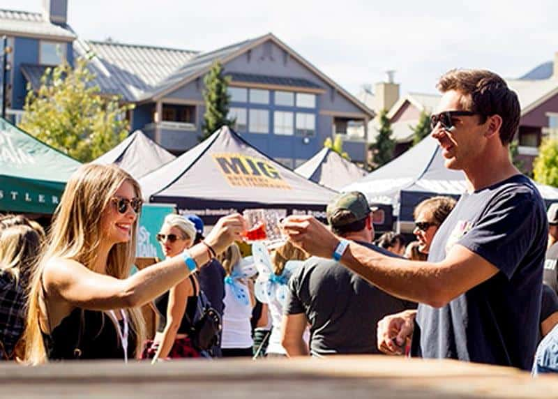 7. Whistler Village Beer Festival — Tuesday, September 11 to Sunday, September 16