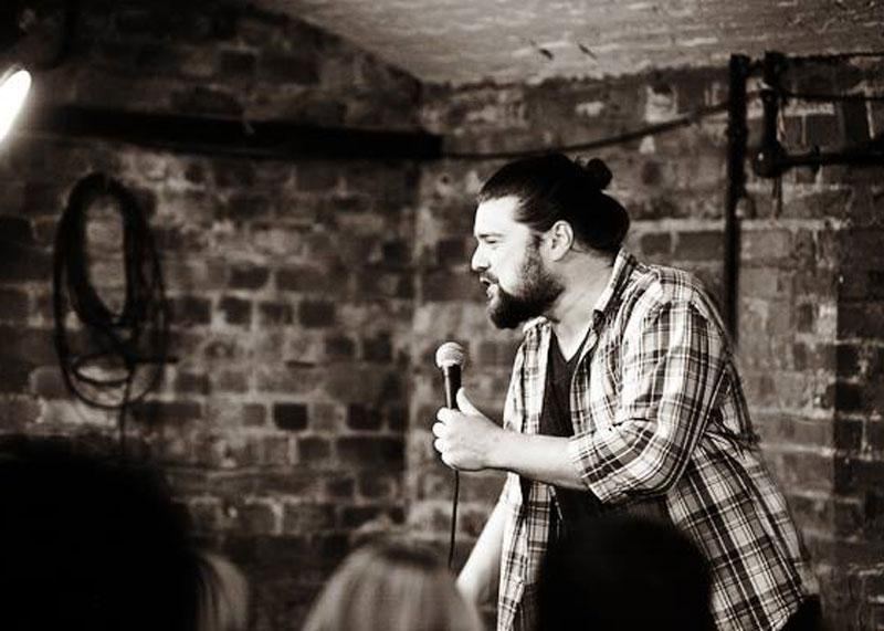 2. Levi McCachen and Ryan Gunther with Headliner Simon King — Saturday, September 29
