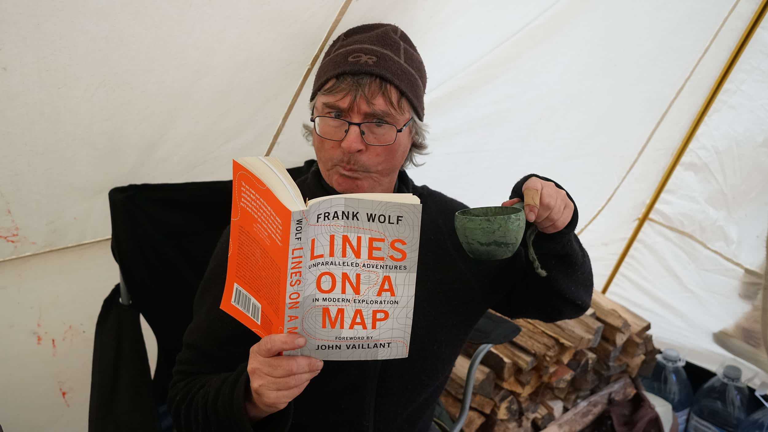 4d2f60e0a The Happy Camper: Frank Wolf's New Book
