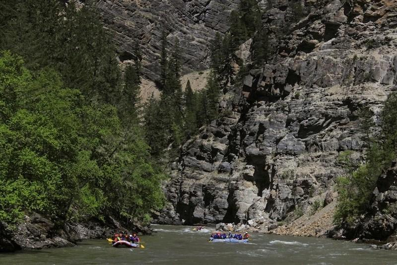 Rafting in Fernie