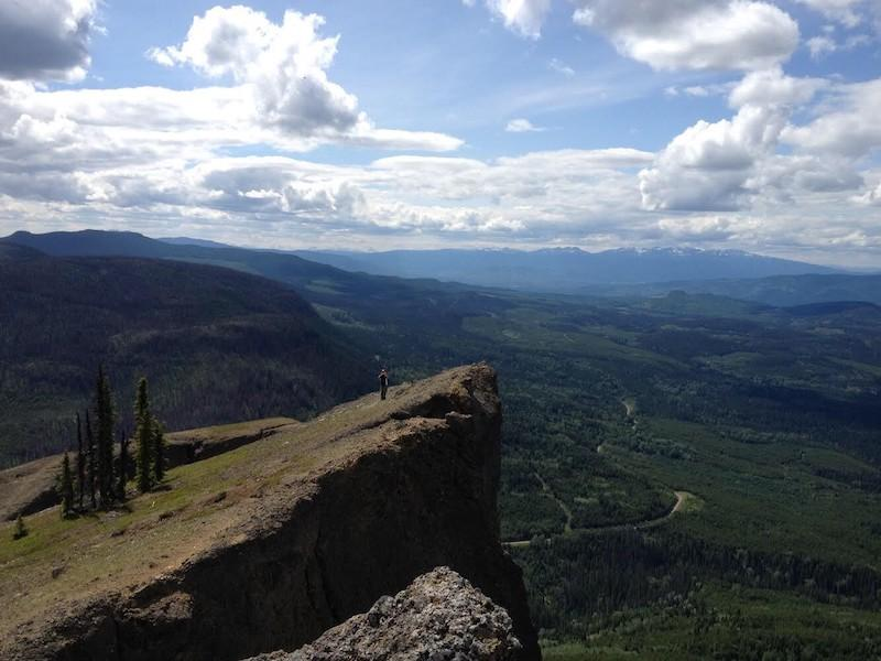 Hiking near Smithers. – photo Tourism Smithers